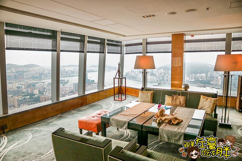 [香港飯店推薦] 全港最高116樓「麗思卡爾頓酒店行政酒廊」<VIP|俱樂部|Club Lounge>