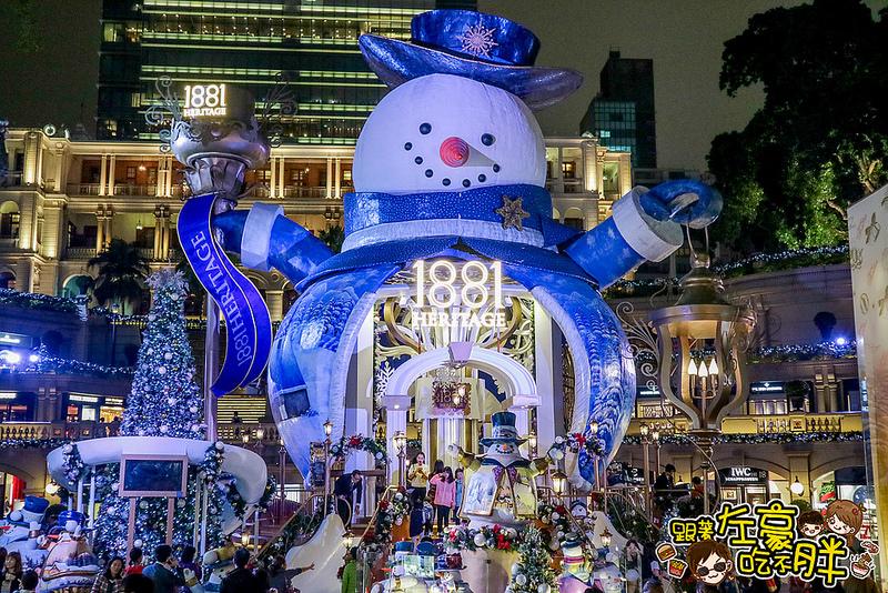 [旅遊] 香港尖沙咀耶誕全攻略。海港城(耶誕小雪翁)1881(夢幻雪人)鐘樓(3D光雕)半島酒店(巨型氣球)夢幻之旅ICC聲光秀|來去香港過耶誕~