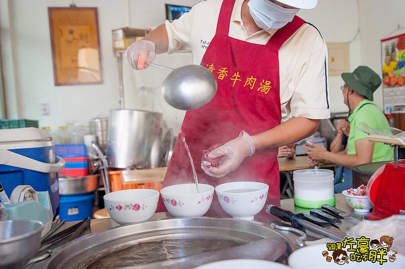 [台南美食] 小巷仔內~吃熟客!「清香牛肉湯」蔬果熬湯清香回甘~