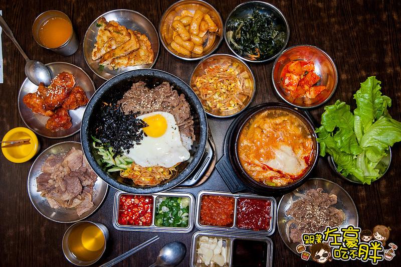 [高雄美食] 話題名店!韓式料理吃到飽「槿韓食堂」乎哩呷免驚 一次滿足你的嘴~