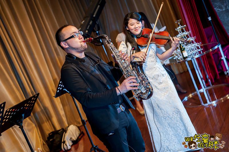[婚禮記錄] 推薦!婚禮樂團「幸運草婚禮樂團」現場演奏、專業主持、客製化服務