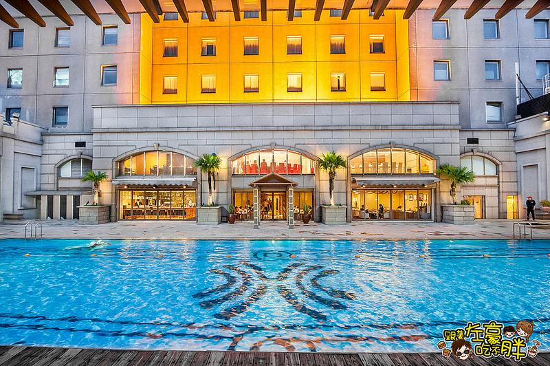 [高雄美食] 高雄最高池畔餐廳 漢來大飯店-池畔餐廳 週六犇Fun夜