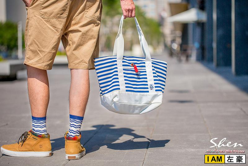 [休閒穿搭] 自然休閒輕旅行「Chums」兩用造型托特包/聯名款側背包