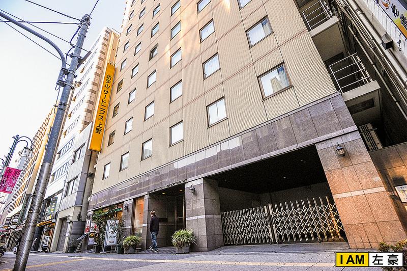 [住宿] 日本自由行 Hotel Sardonyx Ueno 東京上野寶石飯店[CP值高] *附詳細行走路線地圖*