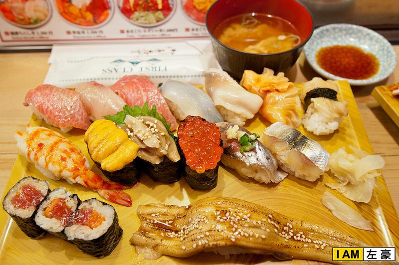 [日本] 2015日本自由行 築地市場 品嚐極正新鮮壽司美味!