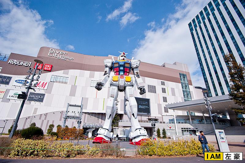 [日本] 2015日本自由行 台場Dliver city鋼彈&自由女神&彩虹大橋