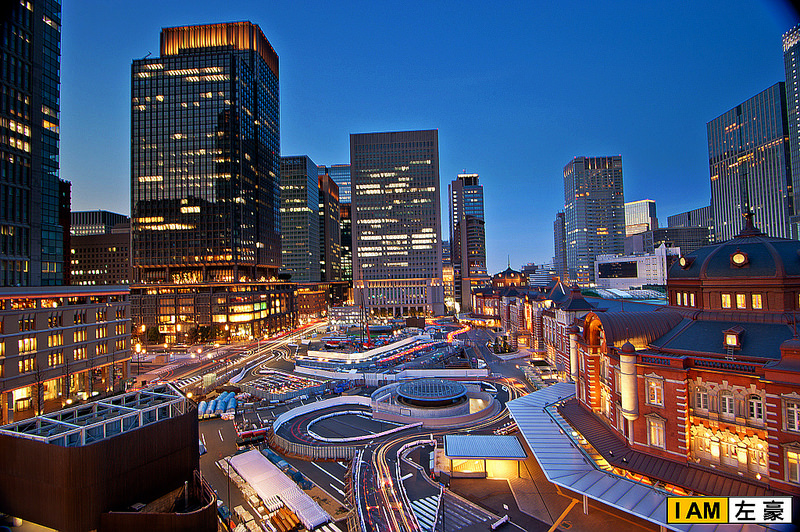 [日本] 2015日本自由行 東京車站+Kitte大樓夜景必拍