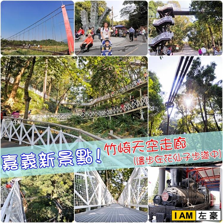 [旅遊] 嘉義新景點 竹崎天空走廊(漫步在花仙子步道中)