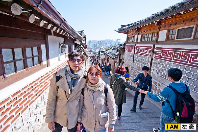[國外旅遊] 韓國首爾自由行。首爾北村 (傳統古屋兼練腿力之旅)