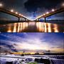 [夜景] 高屏大橋 & 欄沙壩