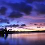 [高雄景點] 三大賞夕陽地點「澄清湖」觀賞澄湖夕陽美景