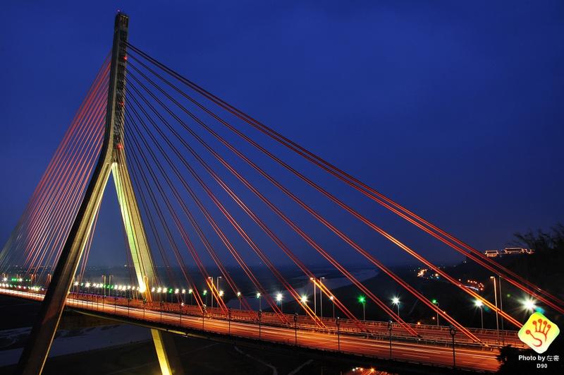 [高雄景點] 國內首座複合式「斜張橋」橫跨的長度可是排名世界第二!