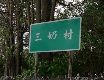 特別村名 – 大社鄉三奶村
