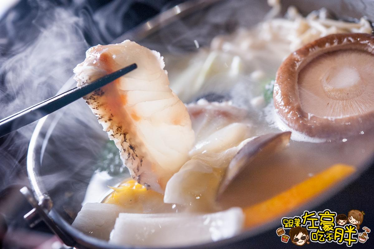 [高雄美食] 罕見!獨特~鰻魚涮涮鍋、蒲燒鰻魚飯「潮」日本料理 寒流人氣鍋物