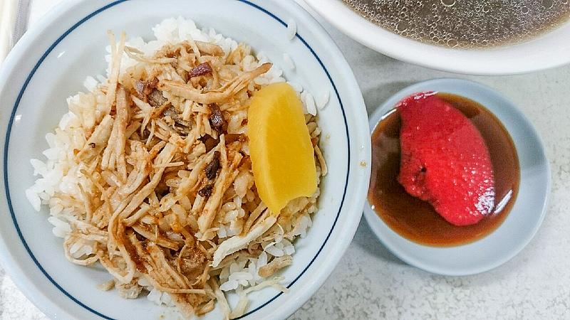 [高雄美食] 30年老店 林天生肉燥飯 雞肉飯、滷肉飯 *中華夜市美食*