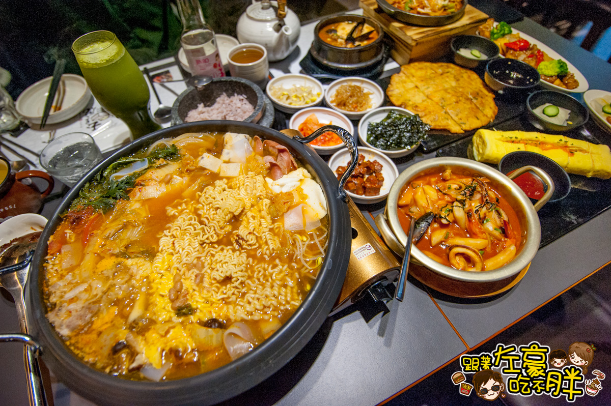 [高雄美食] 料滿甜辣~韓國部隊鍋 玉豆腐韓國家庭料理(楠梓家樂福店)