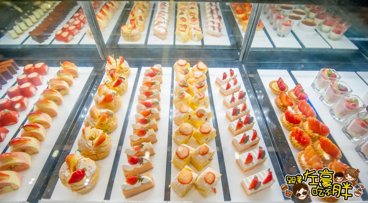 [高雄美食] 狂爆草莓季開跑!國賓飯店 i River「愛河牛排海鮮自助餐廳」贈XO醬廣肚一份