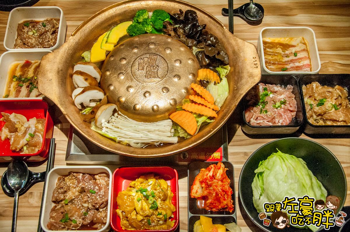 [高雄美食] 大魯閣草衙道。銅盤嚴選韓式烤肉 (草衙店) 烤肉吃到飽!