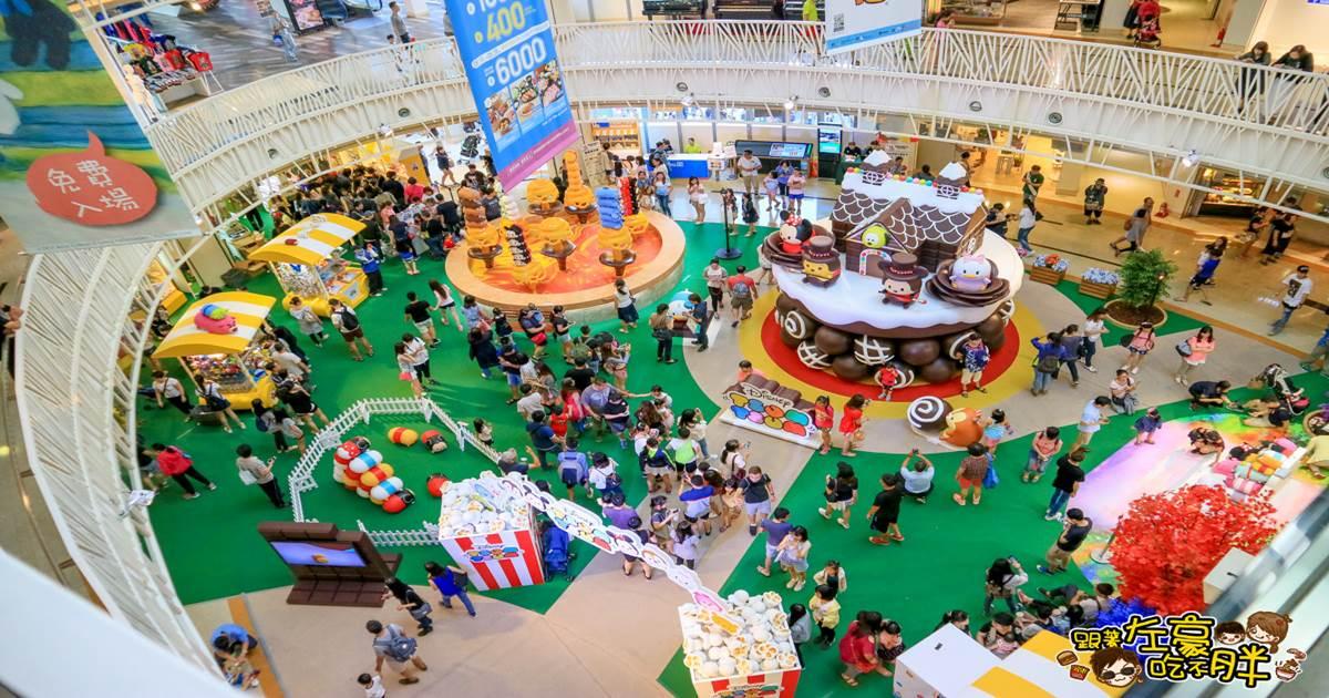 玩轉派對2 夢時代迪士尼tsum tsum可愛展覽免費參觀