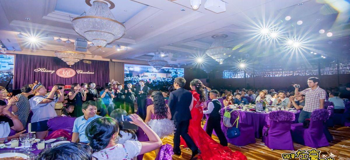 高雄結婚場地推薦「漢來大飯店」斥資上億大改裝-華麗婚宴大公開