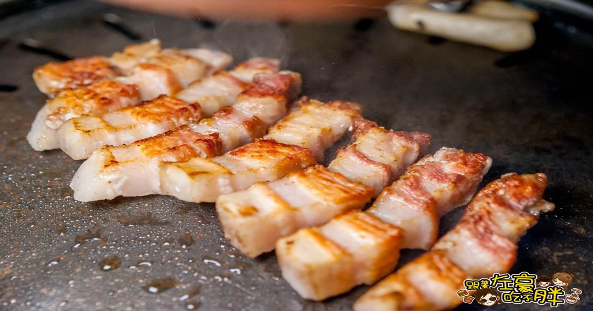 讚呀正宗韓式烤肉專賣店 歐巴燒烤專人服務~原塊肉片大口吃肉!