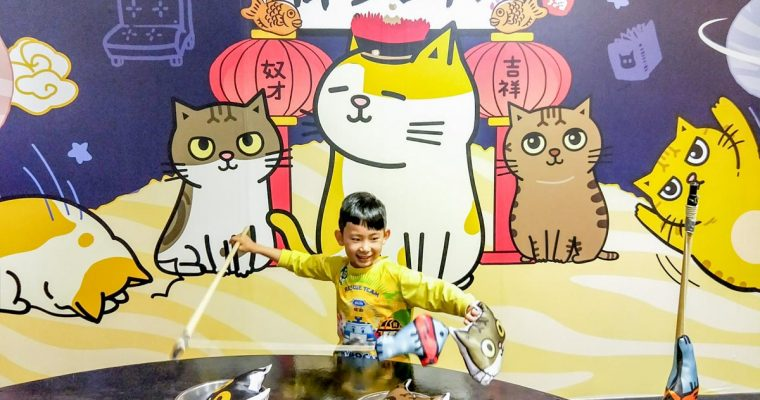 高雄旅遊推薦 夢時代萌系星球汪喵特展(免費入場) 貓狗來寵物當家