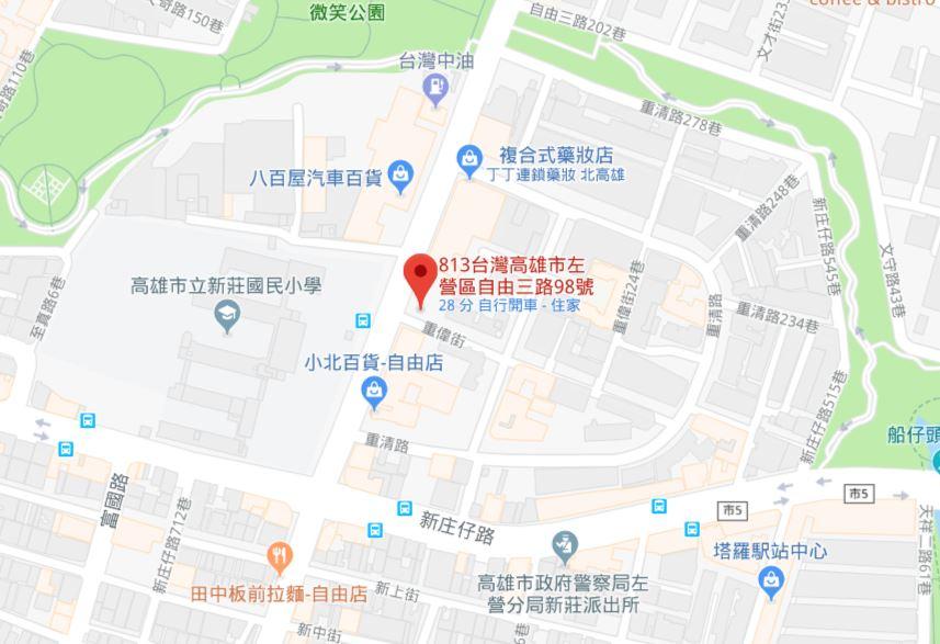 高雄莆田地圖