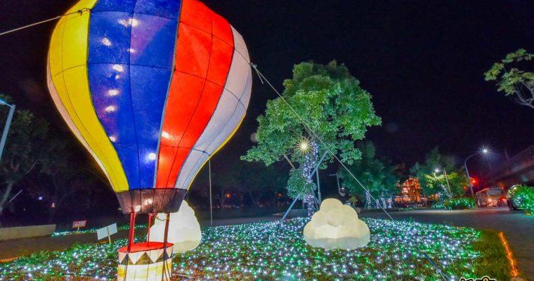 2019屏東綵燈節x美食懶人包~超萌熱氣球閃亮一整夜,IG刷爆必追景點。