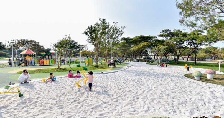 最新!高雄衛武營兒童遊戲場、超大白沙灘,親子景點推薦~華麗大變身