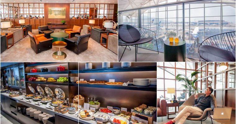 [旅遊]香港自由行國泰航空[玲瓏堂The Deck]最新貴賓室啓用