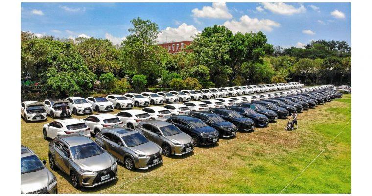 [汽車] NX車聚 全台NX家族大會師 LEXUS Taiwan NX Club