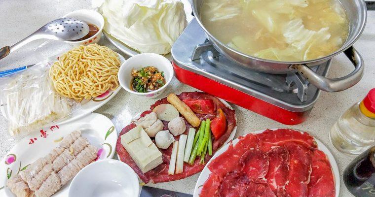 台南火鍋 小豪洲沙茶爐 菜單x手工沙茶醬 廣東汕頭火鍋名店